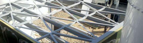 Různé typy ocelových konstrukcí